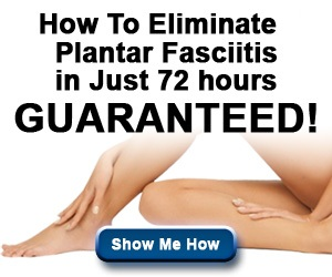 Fast Plantar Fasciitis Cure